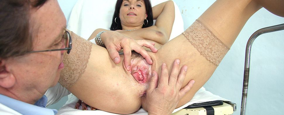 Elder wives getting vaginal enema